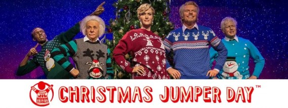 Christmas Jumper Day _ Save-The-Children- Con la pluma en bandeja