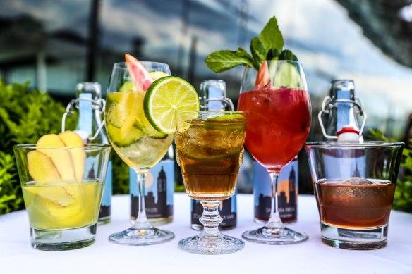 Cocktails embotellados de OXO Tower Bar. /OXO TOWER