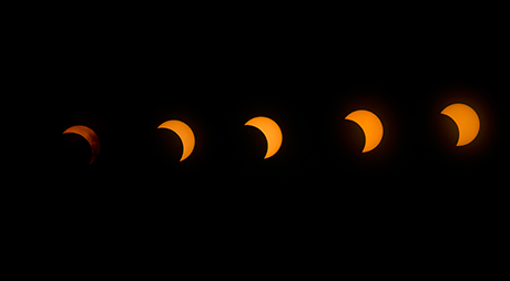Eclipse solar en Londres. /LBC - www.conlaplumaenbandeja.com