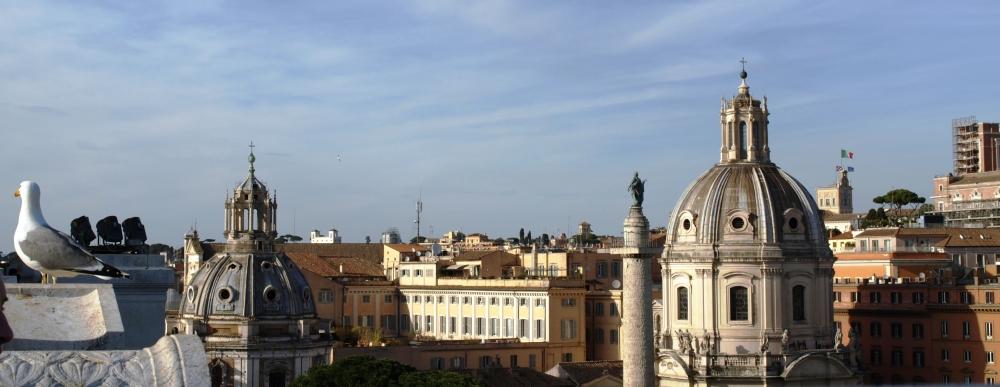 Cúpulas de Roma. /Tamara Velázquez - www.conlaplumaenbandeja.com