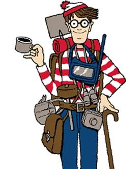 Wally, el personaje más buscado de la historia. /l.w. - www.conlaplumaenbandeja.com