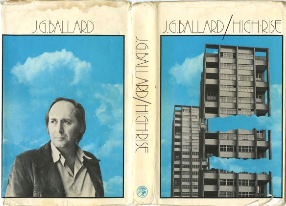 Portada de la primera edición de la novela de JG Ballard 'High rise'. /www.existentialennui.com