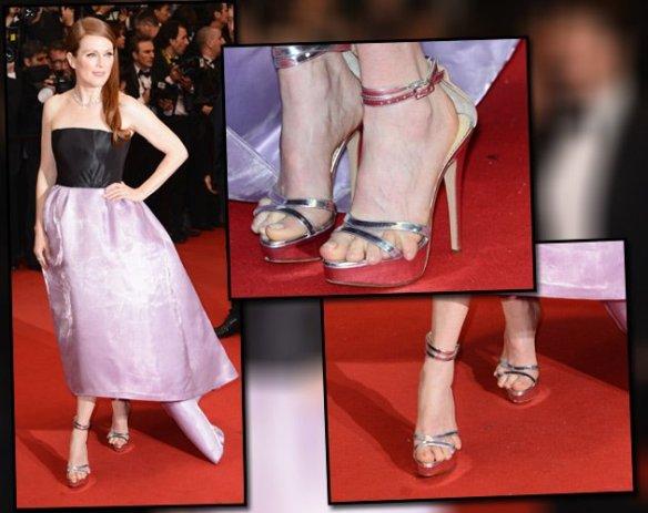 Los meñiques de Julianne Moore en Cannes 2013 /Metropolitano online
